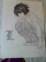 L Death Note by maybemorgansonfire