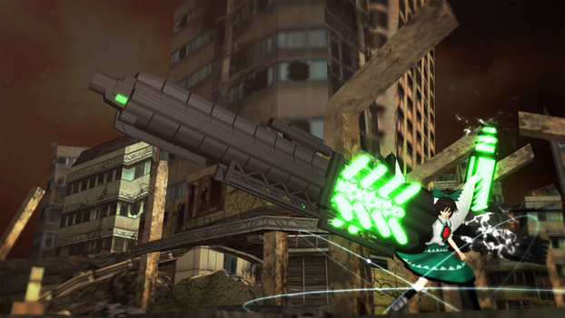 Overed Sign: ~Hell Raven's Giga Cannon~ by NoviceOfAll