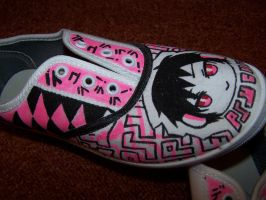 PsycheDelic shoes Psyche Unfinished by xXStrawberryxMisaXx