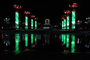Night lights of Xi'an - 1 by wildplaces
