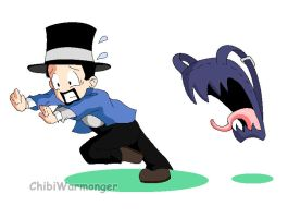 Total Biscuit and the Backpack from HELL!!! by Chibi-Warmonger