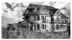 Revisited Haunted House by shell4art