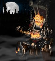 The Pumpking by Hellbeholder