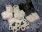 Custom commission fursuit parts by OurMassHysteria