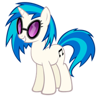 Vinyl Scratch vector by Durpy