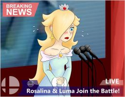 Rosalina Announced by mrgardenart