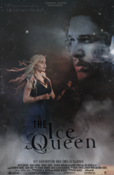 The Ice Queen - Book Cover by NisaUzerli