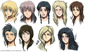 Shingeki No Genderbend ~ by Charjuku