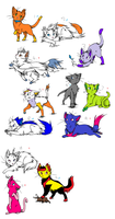 draw to adopt cat adopts by piplup40