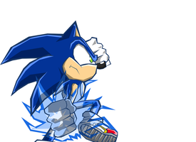 Sonic Battle Wii: Sonic by Hawke525