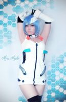 Rei Ayanami by MaryMagika
