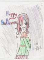Happy Halloween colored by Yuzuki-Takamine