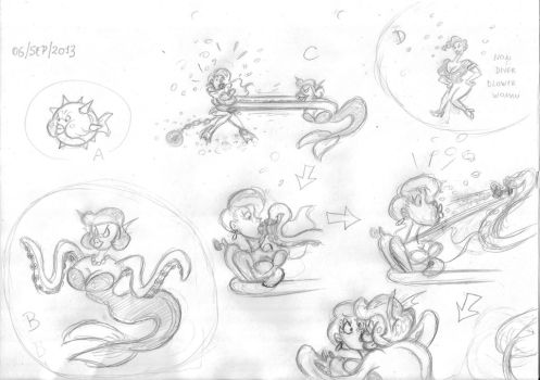Debbie D Sketches 03 by pballooned