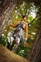 Ymir Cosplay - Attack on Titan! by Abessinier