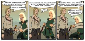 Viserys Douche Bag by immilesaway