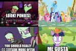 Invader Zim/MLP Meme by CartoonAnimes4Ever