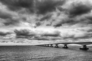 Zeeland Bridge 9 | Netherlands by JacktheFlipper-de