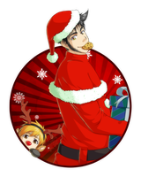 Merry Christmas from Ted by Abby-desu