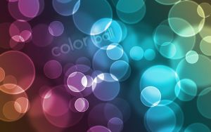 Abstract Color-Ball v1 by whozZy94