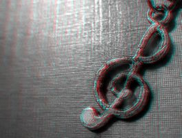 Clef 3-D conversion by MVRamsey