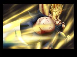 Vegeta 11 Colored by vissroid