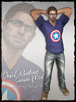 Chris Redfield - Casual Clothing by JhonyHebert
