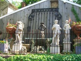 Garden Statues Stock by RX-stock