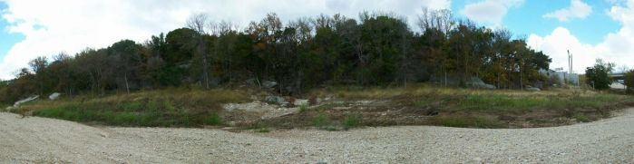 Gravel Riverbank Panorama by Generality