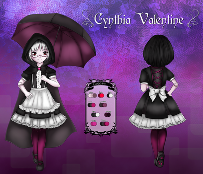 Cynthia Valentine - reference sheet by Luxianne