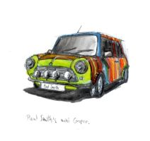 paul smith's mini cooper by Iceland-Ink