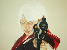 Nero Devil May Cry 4 by bluedragoneye