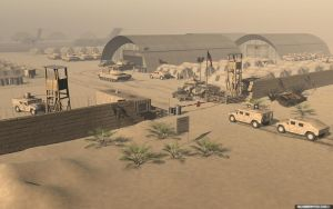 Military base by slographic