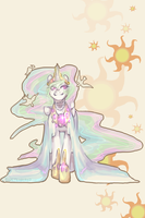 Princess Celestia by BlueTeardrop