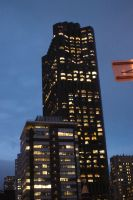 Evening San Francisco Building by TheBothan
