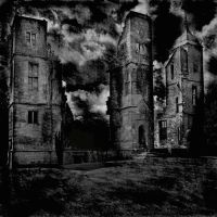Haunted Buildings Background by mysticmorning