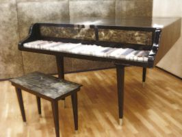 Grand Piano Bookholder by LinaElShamy