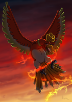 Ho-Oh by Esquitax