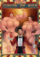 Circus of Size cover by zzzcomics