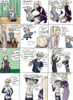 Single Parenting With Ino by rhymeswithmonth