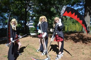 Soul Eater Photoshoot 1 by MouseyCosplay