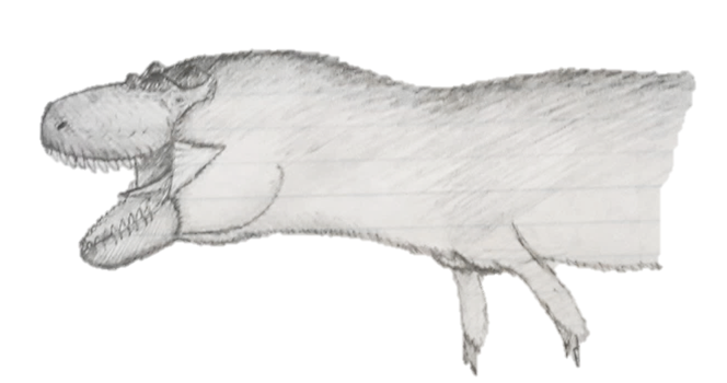 Daspletosaurus by The---Other---One