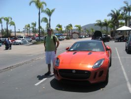 Me and the Jag by granturismomh