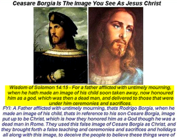 False Image of Christ by 12TribesOfIsrael