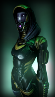 ~Tali'Zorah Vas Normandy~ by Commodor-Richter