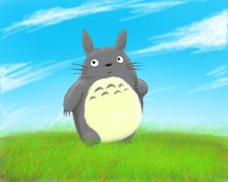 Totoro by Becky-KH