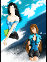 .:Request : Julie and Akiza:. by InnerRequiem