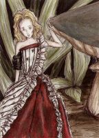 ACEO 113 Tims new Alice by Juhulefu