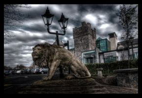 The Entrance is Guarded. by suolasPhotography