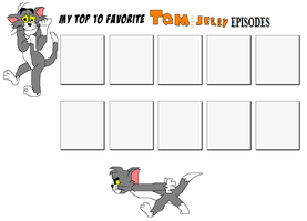 My Top Ten Tom and Jerry Episodes Meme by Austria-Man
