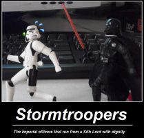 Fact about Stormtroopers by Amisca